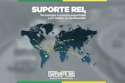 Exportando tecnologia brasileira para o mundo!