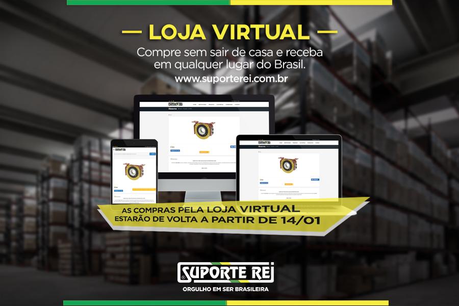 Loja Virtual de volta!