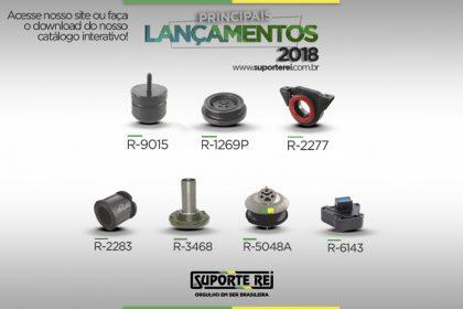 PRINCIPAIS LANÇAMENTOS DE PEÇAS 2018