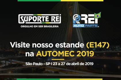 Visite nosso estande na AUTOMEC 2019!