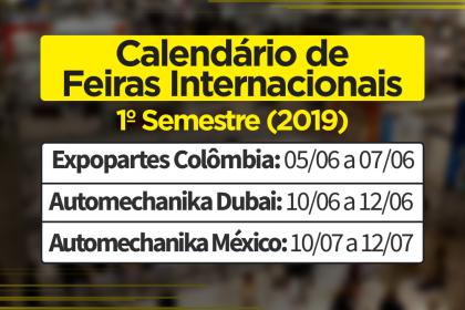 Calendário de Feiras Internacionais