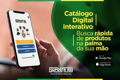 Catálogo Digital Interativo | Suporte Rei