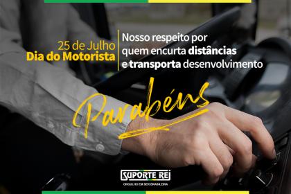 25 de julho | Dia do Motorista